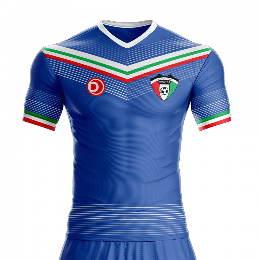 2016-2017 Kuwait Football Jersey – Dahhan Sports