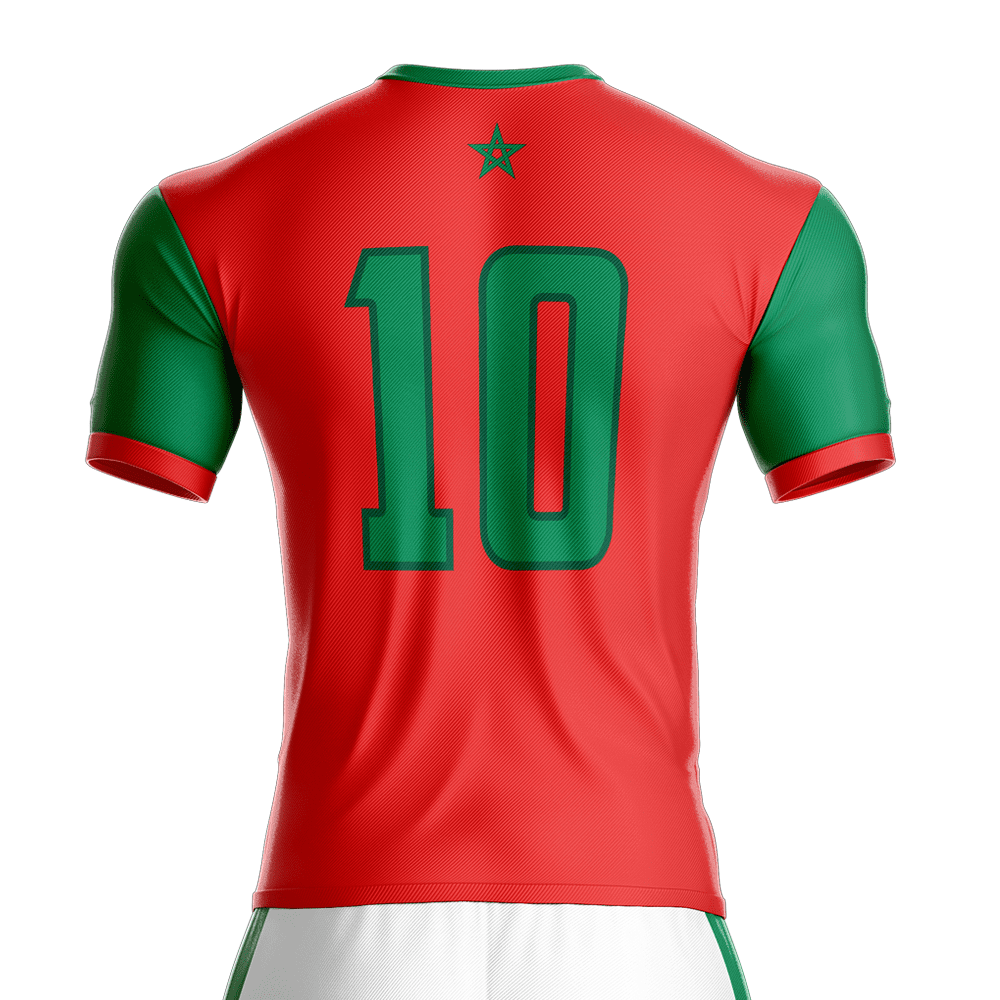 2016 2017 morocco football jersey dahhan sports. Black Bedroom Furniture Sets. Home Design Ideas