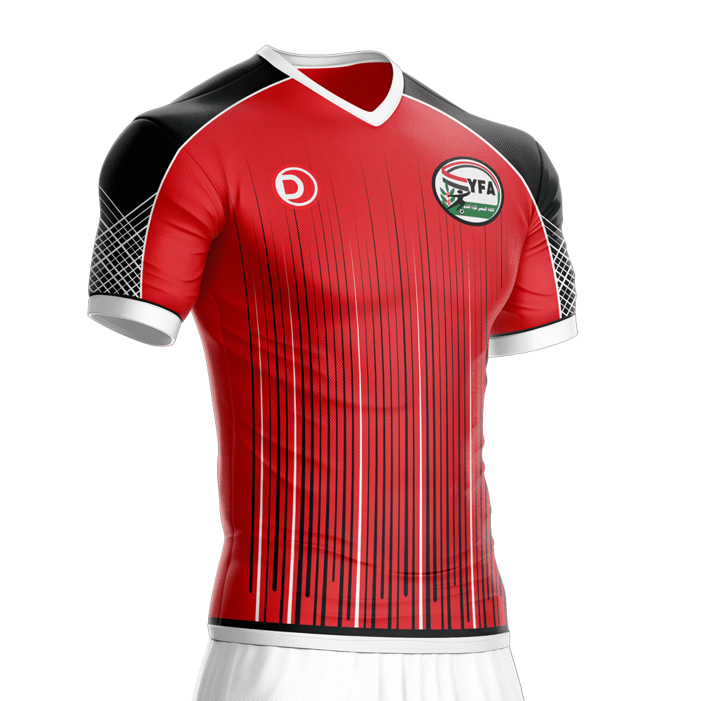 2016-2017 Yemen Football Jersey – Dahhan Sports