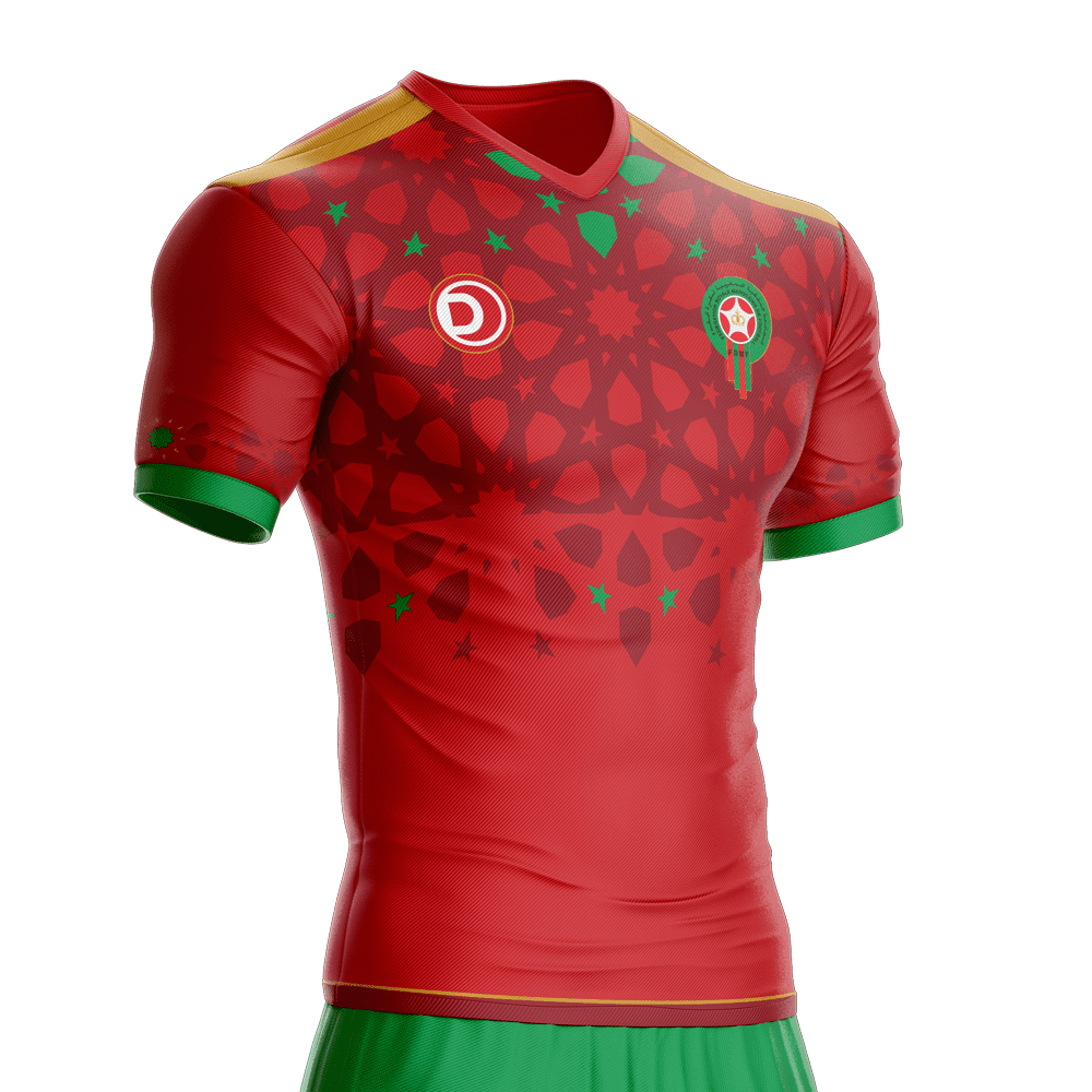 competitive price 7cebb ae769 2019 Morocco Football Jersey